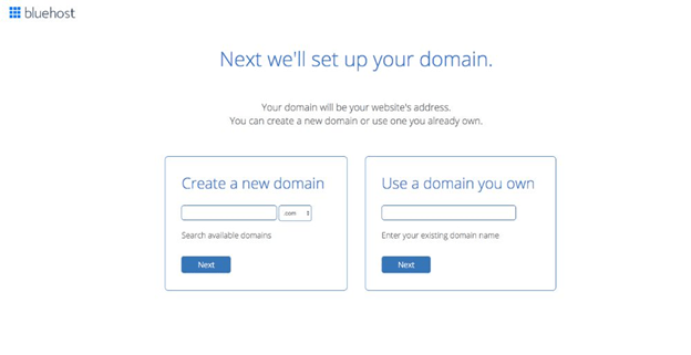 sellect a domain name