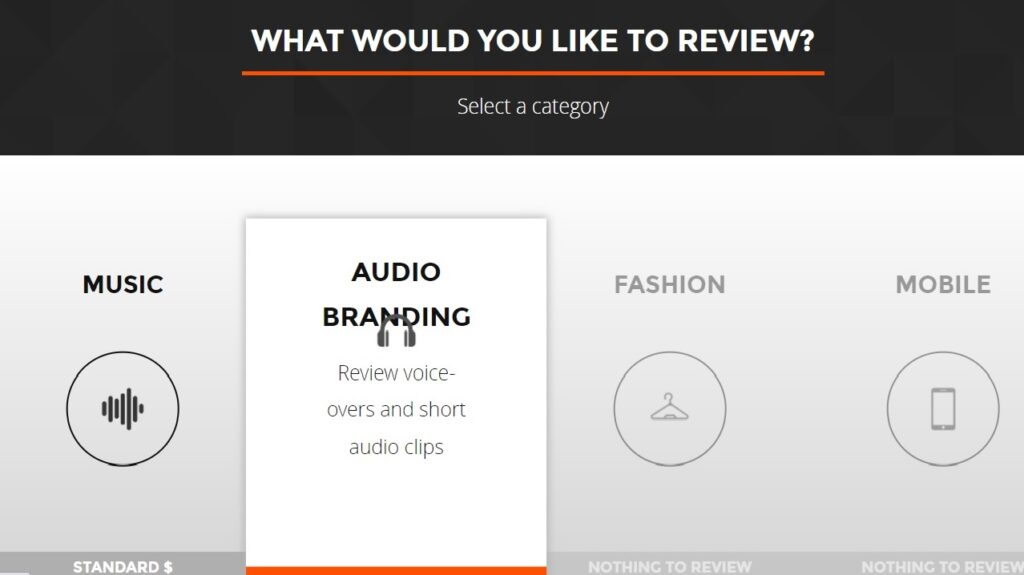 Slicethepie  categories to review