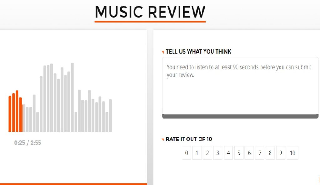 music review example