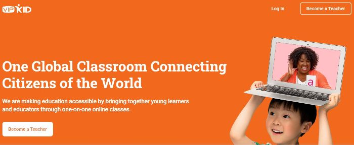 VIPKID is a trusted platform to make money online teaching english.