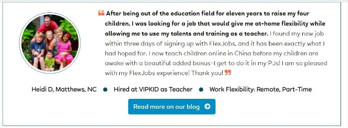 People making $100 per day from flexjobs